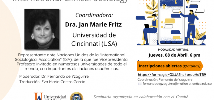 Jan Marie Fritz e la nuova edizione di INTERNATIONAL CLINICAL SOCIOLOGY
